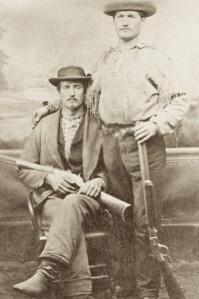 Buffalo Bill and Wm Gaulke