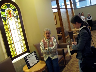 Mary Hanneman is interviewed by Kat Wagner of The Catholic Herald in December 2007.